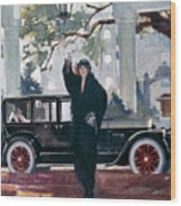 Pierce-arrow Ad, 1925 Wood Print