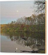 Pierce Lake Wood Print