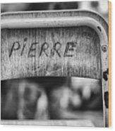 Pierre Wood Print