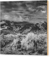 Piestewa Peak Light Wood Print