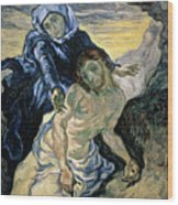 Pieta Wood Print by Vincent van Gogh