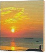 Pigeon Cove Summer Sunrise Wood Print