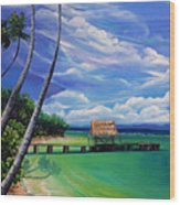 Pigeon Point   Tobago Wood Print