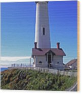 Pigeon Point Lighthouse 3 Wood Print