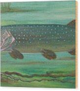 Pike Wood Print