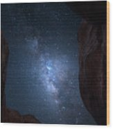 Pike National Forest Milky Way Wood Print