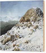 Pike O' Stickle Wood Print