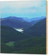 Pikes Peak 2 Wood Print