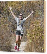 Pikes Peak Road Runners Fall Series IIi Race #3676 Wood Print