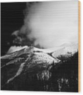 Pikes Peak Western Slope Wood Print