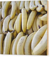 Pile Of Bananas Wood Print