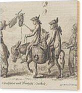 Pilgrimage To French Bucholz Wood Print
