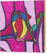 Pillar Of Love Wood Print