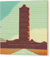 Pillar Of Success Wood Print