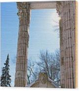 Pillars Of Hercules - The Guild Inn Wood Print
