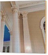 Pillars Of Strentgh Wood Print