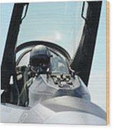 Pilot Wood Print