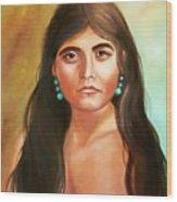 Pima Maiden Wood Print