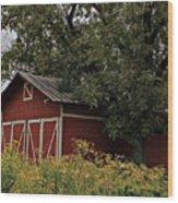 Pine Barn Wood Print