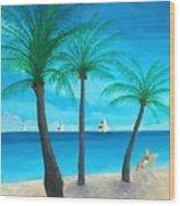 Pine Island Lady  Wood Print
