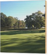 Pine Ridge Golf - Beautiful 14th Par 3 Wood Print