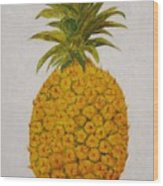 Pineapple Princess Wood Print
