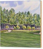 Pinehurst Golf Course 17th Hole Wood Print