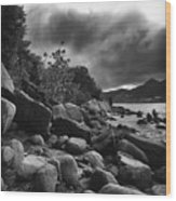 Pinel Island Wood Print
