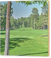 Pinetop Country Club - Hole #18 - Photos Wood Print