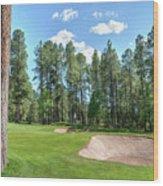 Pinetop Country Club Photos Wood Print