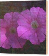 Pink And Gold 6156 Dp_2 Wood Print