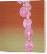Pink And Sassy Wood Print