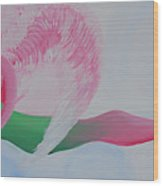 Pink Angel Of Unconditional Love Wood Print