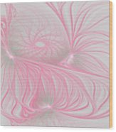 Pink Anyone Wood Print