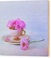 Pink Attitude Wood Print