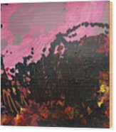Pink Bliss Wood Print