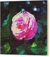 Pink Camille,nishishinjuku Wood Print