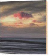 Pink Cloud Wood Print