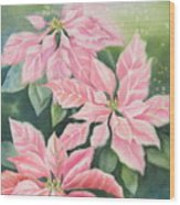 Pink Delight Wood Print