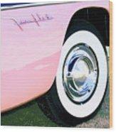 Pink Desoto Fireflite Wood Print