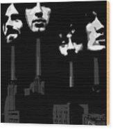 Pink Floyd No.02 Wood Print