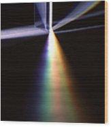 Pink Floyd Physics Wood Print by Gerard Fritz