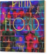 Pink Floyd The Wall Wood Print