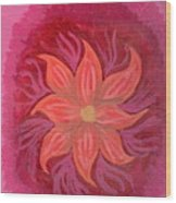 Pink Fusion Wood Print
