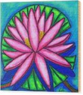 Pink Gem 2 Wood Print