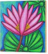 Pink Gem 3 Wood Print