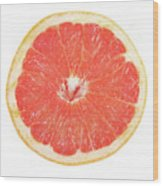 Pink Grapefruit Wood Print by James BO  Insogna