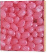 Pink Jelly Beans Wood Print