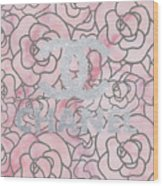 Pink Marble Chanel Wood Print