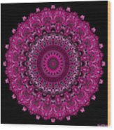 Pink Passion No. 7 Mandala Wood Print